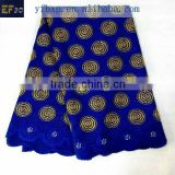 Lace hand embroidery designs big heavy lace swiss voile lace/ royal blue fine high quality african lace for wedding dresses