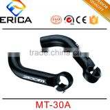 Qualified Mountain Bicycle Parts 22.2mm Bar Bore Forged Alloy Sliver Bike Handle Bar Ends