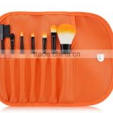orange 7PCS MakeUp Face&Eye Brushes Set Eyeshadow Brush Eye Brow Tools