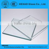 low iron glass, safety glass, ultra clear float glass with CE & ISO9001certificate in building&real estate