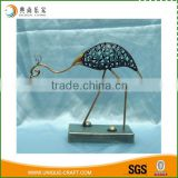 modern style antique crane metal home decoration                                                                                                         Supplier's Choice