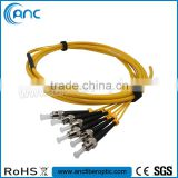 Customized 12 Core Singlemode Optical Fiber Cable with FC SC/APC LC Connector