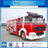 New condition hot sale customized cheap price 4x2 sinotruk 8ton 8000L 8m3 foam tank fire truck