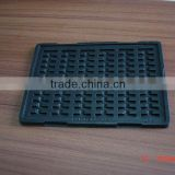 PET/PS vacuum formed /plastic/blister electronic anti-static perpetual/permanency/permanent tray supplier