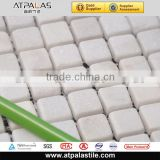 pure white natural marble stone mosaic tiles for backsplash, bathroom wall