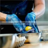 Blue Color Disposable Vinyl Glove for Food Industry