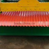 Glazed Steel Tile Aluminium Corrugating Roll Forming Machine in China ,Corrugated Roll Forming Machine