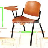 single student chair with writing board chairs for college students office chair wooden writing pad classical office furniture