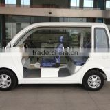 Hot economic high speed 4 wheel electric 4.2KW motor car with 4 seats for sightseeing in china