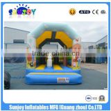 SUNJOY 2016 new designed custom made inflatable bounce house,cheap inflatable bouncer for sale