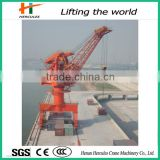 Made In China Rail Mounted Floating Dock Sea Port Portal Crane Price