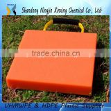 uhmwpe crane outrigger jack pads with Lifetime Guarantee/uhmwpe crane foot bearing support outrigger pad