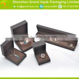 Cardboard covered with art paper jewelry set gift packaging box for ring /earring/bracelet/necklace