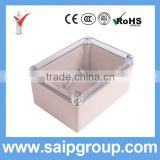 IP66 China ABS Plastic Electrical Panel Box With Clear Cover 150x200x100mm