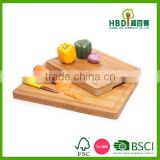 2016 Hot selling kitchen bamboo chopping block,wood vegetable cutting board,bamboo cutting board wholesale