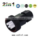 4 Pin Automotive Electrical Wire Connector,686A Series, IP68 Waterproof Rating, Electric Screw Connectors