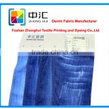 100% tencel denim fabric 5.7oz blue plain weave
