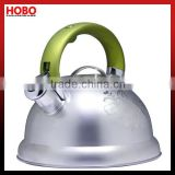 2.5L Stainless Steel Spraying Decoration Whistling Kettle Tea Kettle