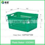 Durable Fruit and Vegetable Plastic Baskets