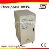 Yueqing SVC 3 phase 3kva automatic electric current power voltage stabilizer