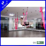 general use Anti gravity aerial yoga swing hammock with daisy chain