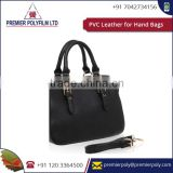 Biggest Exporters And Manufacturer Of PVC Leather For Hand Bags