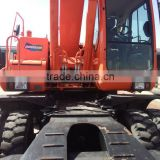 used wheel excavator DOOSAN DH210LC-7/DH220LC-7 sell cheap with good condition