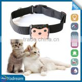 New Year 2017 Promo mini waterproof Pet Collar Small GPS Cat Dog Tracker D69 with Free Tracking Platform Vocie Monitor GEOFence