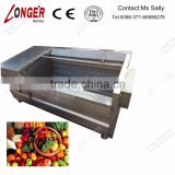 Apple Cleaning Machine|Brush Type Fruit Cleaning and Peeling Machine