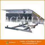 factory loading manual air powered hydraulic edge vertical lift dock leveler