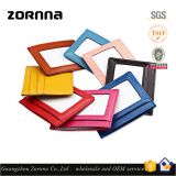 Zornna Wholesale stock top layer cow grain shielding blocking leather rfid leather wallet