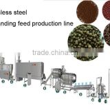 Stainless steel animal food,fish feed,expanding feed production line,expand feed making machine