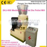 SKJ-800 China professional hardwood, log, wood timber deep processing pellet mill with CE Price/ wood pellet press machine