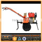High Efficiency 10HP Diesel Power Tiller / Mini Rotavator With Standard Configuration