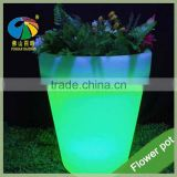 aibaba com guangzhou furniture market led light plastic flower pot big vase for hotel