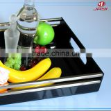 Wholesale special Acrylic rectangle trays/wedding tray