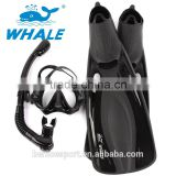 adult scuba dive mask snorkel set