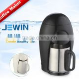 Mini home use automatic coffee maker with single cup stainless steel