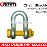 ATLI G2150-1-1/4 US type carbon steel Clevis Shackle