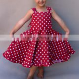 INQUIRY ABOUT Baby Girl Frock Design Clothes Pictures Names Polka Dot Party Dresses HSD2473