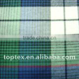 100% cotton woven yarn dyed flannel fabrics for garment/shirt