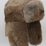 Full Fur Russian Style Rabbit Fur Hat