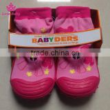 Hot Sale Baby Skidders Toddlers Rubber Shoe Socks Infants Comfortable Rubber Shoes