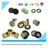 polyurethane elastomer products,polyurethane sheetCustom polyurethane Durable Casting Bushings