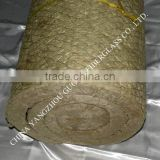 heat insulation rock wool blanket with wire mesh