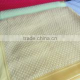 Bamboo Textile blanket Waffle Blanket Factory price Full size/Queen size/King size with logo