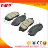 ceramic front brake pads for nissan tiida c11 oem D1060-JN00A