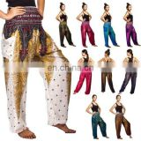 Peacock Boho Genie Hippie Aladdin Beach Baggy Gypsy Yoga Harem Pants Trousers
