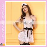 Ladies Sexy Lingerie Maid Uniform Womens Sexy Underwear Outfit Lace Lingerie
