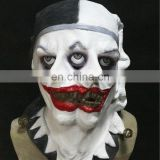 New Design Adult Full Head 2 faced Jester Clown Mask for 2014 World Cup